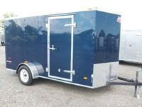 Single Axle 6x12 Enclosed Trailer in Michigan for sale,
