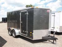 Enclosed Trailer For sale,7x14 Tandem Axle Trailer,