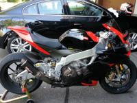 2010 Aprilia RSV4 Factory. Bike just had service done