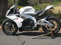 The Aprilia RSV4 R brings the technology and unique
