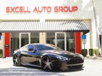 Introducing the 2010 Aston Martin V8 Vantage Coupe.