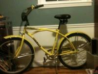 2010 Atlas Sun Kruiser for sale. $200 yellow. Large