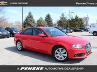 CARFAX 1-Owner. REDUCED FROM $11,900! 2.0T Premium