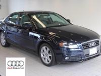 This 2010 Audi A4 is equipped with quattro all wheel