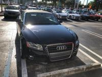 This outstanding example of a 2010 Audi A5 Premium Plus