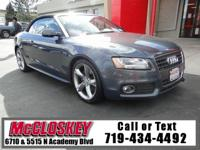 2010 Audi A5 2.0T! All Wheel Drive, Leather,