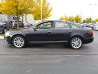 Options:  2010 Audi A6 3.0T Quattro Prestige|Awd 3.0T