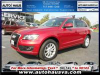 A true SPORT Utility Vehicle! The Audi Q5 is a sports