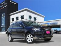 Options:  2010 Audi Q7 3.6 Premium|Black|**Local