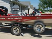 It is in good condition & ready to go fishing. It has