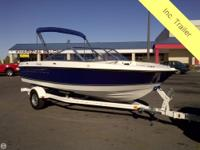This 2010 Bayliner 180 Discovery is set up for fun in