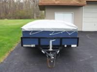 "2010 Belmont 6' X 10' tilt trailer. 15"" rims Asking"