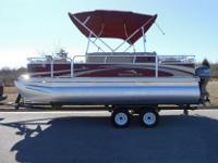 2010 Bennington 20SFI 20' Pontoon Boat Fish Model, Fish