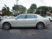 Options:  2010 Bentley Continental Flying Spur