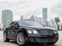 2010 Bentley GT Rate finished in dark saphire with