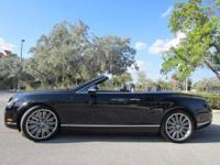 This 2010 Bentley Continental GTC Speed Convertible has