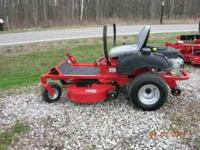 "This is a 42"" consumer zero-turn mower with a Briggs"