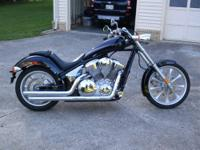 2010 Honda Fury 1300 For sale bike has factory seat and
