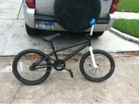 Selling a 2010 black and white haro bike for $150. Bike