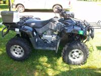 THIS IS A 2010 BMS 400 ATV 2WD 4WD RUNS GREAT LOOKS