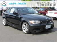 GREAT MILES 39,320! 135i trim. Moonroof, CD Player,