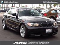 This 2010 BMW 1 Series 2dr 2dr Cpe 135i Coupe features