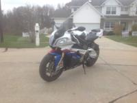 010 BMW S1000RR, best condition, never tracked,