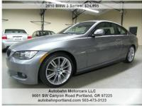 Low Miles, LOADED 328i Coupe with M Sport Package!!