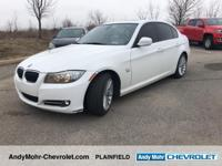 White 2010 BMW 3 Series 335i xDrive 4D Sedan 3.0L