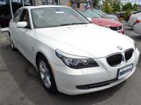 This 2010 BMW 5 Series 4dr 528i xDrive features a 3.0L