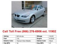 2010 Bmw 528 i 4dr Rear-wheel Drive Sedan Sedan Jet