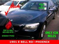 ** STUNNING 750Li ** CLEAN CARFAX ** ONLY 43K MILES **