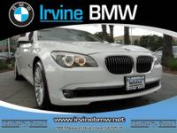 750Li trim. CARFAX 1-Owner, BMW Certified, LOW MILES -