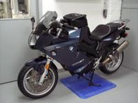 2010 BMW F800ST, Dark Blue, 24k miles. This bike is in