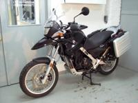 2010 BMW G650GS, black with only 10k miles. This bike