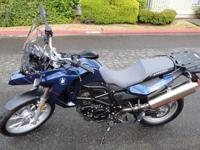 F650GS twin (798 cc engine), I am only selling because