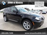BMW of Mobile presents this 2010 BMW X3 AWD 4DR 30I