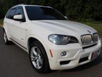 Alpine White 2010 BMW X5 xDrive48i AWD 6-Speed