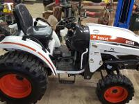 2010 CT230 Bobcat tractor with loader for sale 30hp,