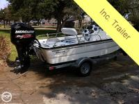 2010 Boston Whaler 150 Montauk, 2013 Mercury 115 Pro XS