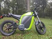 I have a 2010 Brammo Enertia electric motorcycle with