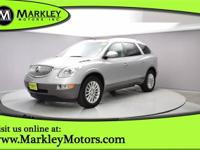 Sculpted in elegant Silver, our 2010 Buick Enclave CXL