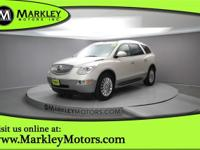 Our 2010 Buick Enclave CXL w/1XL is elegant in White!