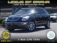 2010 ENCLAVE WITH A PERFECT CARFAX AND ONLY ONE