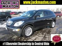 ALL WHEEL DRIVE AND BUICK LUXURY IN ONE GREAT SUV
