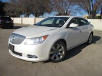 1-Owner 2010 Buick LaCrosse with Rear Parking Assist.