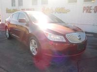 Solid and stately, this 2010 Buick LaCrosse represents