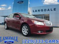 Red Jewel 2010 Buick LaCrosse CXL AWD 6-Speed Automatic