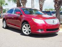Recent Arrival! This 2010 Buick LaCrosse CXL in Red