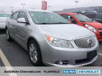 Buick LaCrosse Clean CARFAX. **Accident Free Carfax
